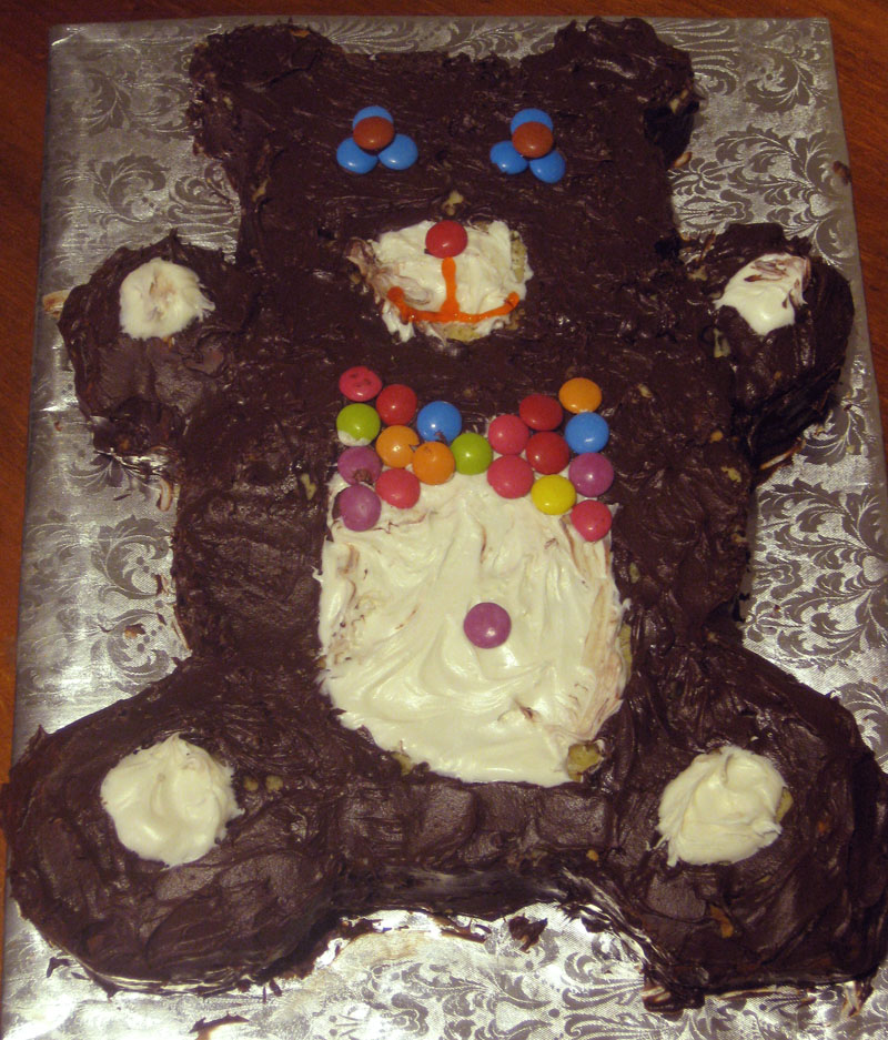 Download Teddy Bear With Cake Images : Happy lil  s are baking #23 ~ Teddy Bear Birthday Cake ...