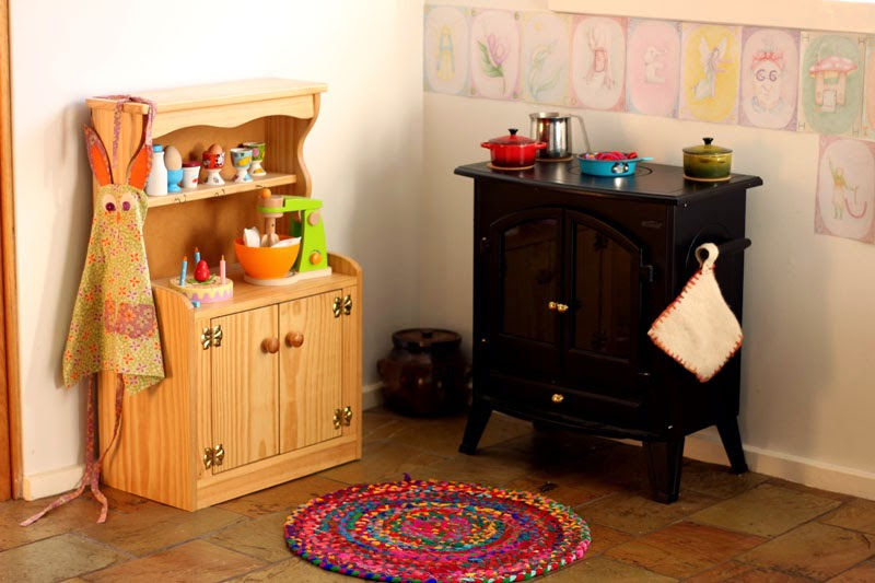 whimsical kitchen floor a waldorf play kitchen happy whimsical hearts