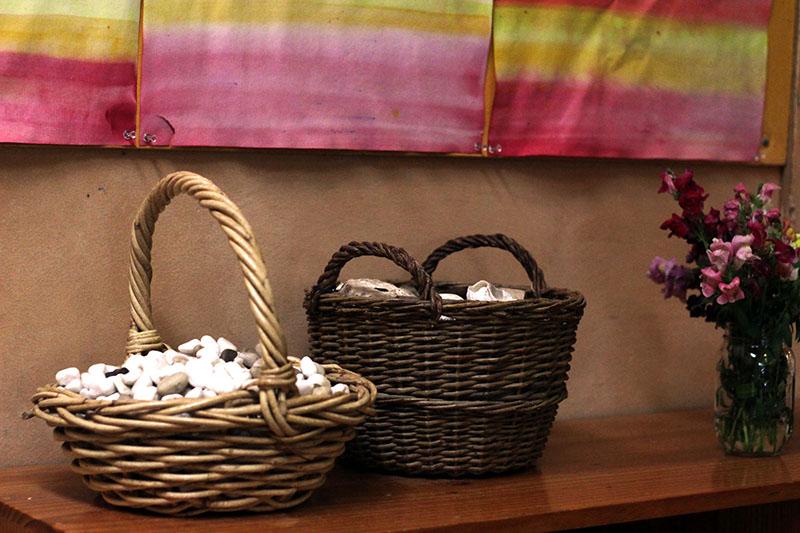 classroom baskets