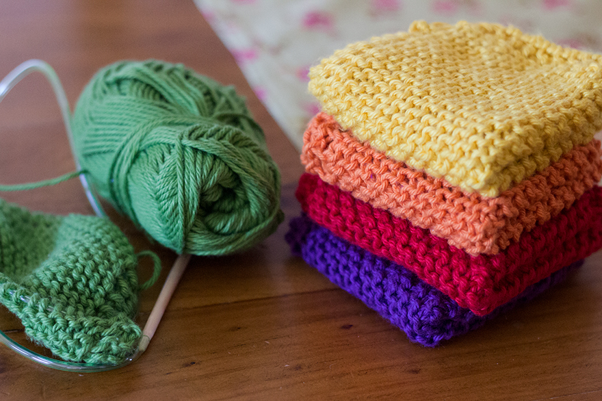 knitting-dishcloths